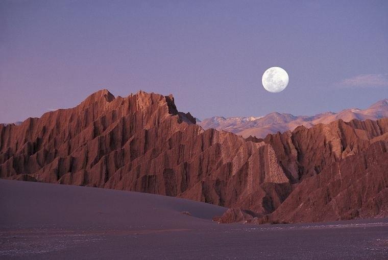 Moon Valley Or Valle De La Luna In Atacama Desert inside Foto De Lbluna