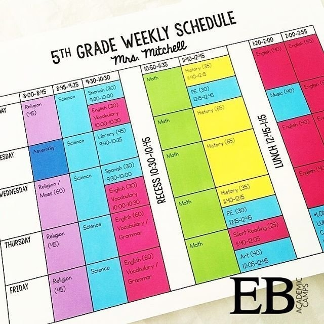 My Weekly Schedule All Color-Coded And Easy To Read. This Is throughout Color Coded Schedule Template