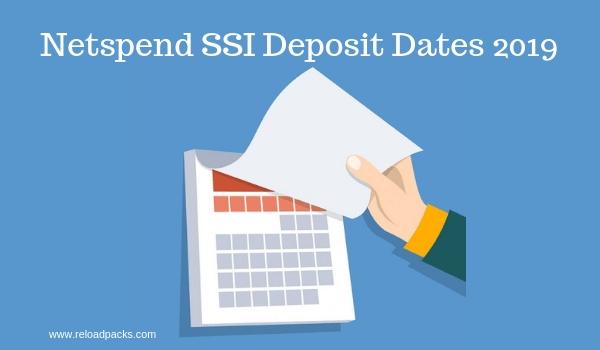Netspend Ssi Deposit Calendar 2020 | Ssi, Deposit, Calendar regarding August Ssi Payment Calendar Image