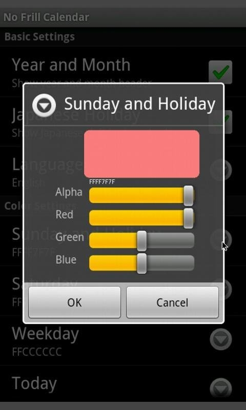 No Frills Calendar For Android - Apk Download in No Frills Calendar Photo