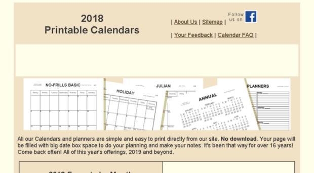 No-Frillscalendar - The No-Frills Calendar Site Is intended for No Frills Calendar