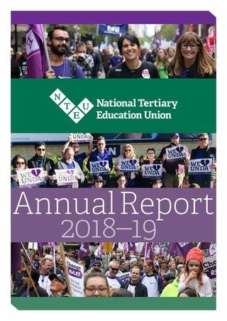 Nteu Annual Report 2018-19Nteu - Issuu pertaining to Nteu 2020 Leave Chart Photo