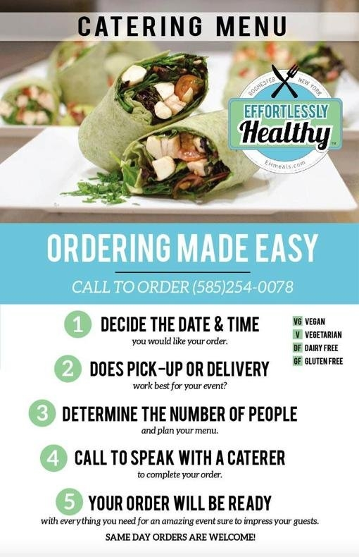 Offering Catering In Rochester, Ny | Effortlessly Healthy intended for Free Time Rochester Ny Photo