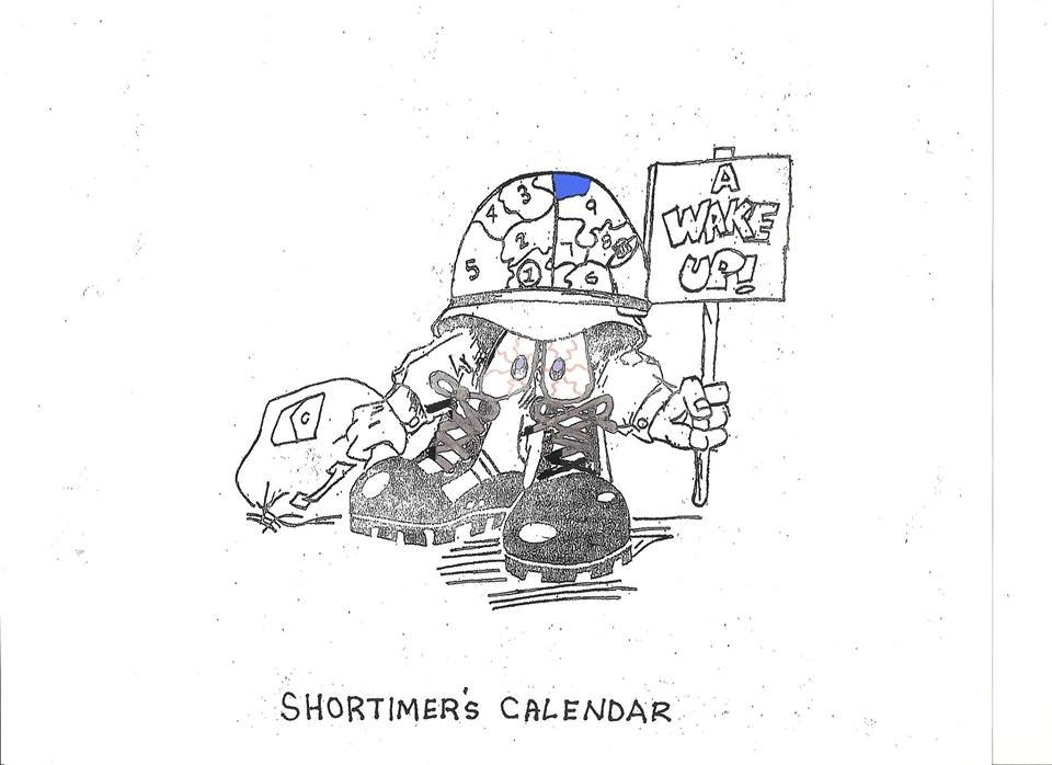 Ok Guntruckers Time To Start Filling Out The Short-Timers intended for Military Short Time Calendar Graphics
