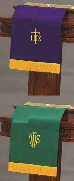 Paraments | Church Table Runner, Bookmarks & Pulpit Scarves within Pulpit Scarf Co;ors For Pctober In United Methodist
