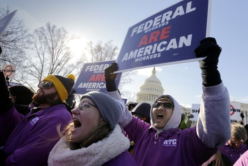 Payday Without Pay Hits Federal Workers As Shutdown Drags On pertaining to What Are The Federal Government Payday Image