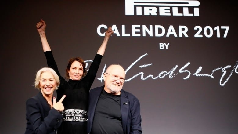Peter Lindbergh's No-Frills Pirelli Calendar Portraits 'a for No Frills Calendar
