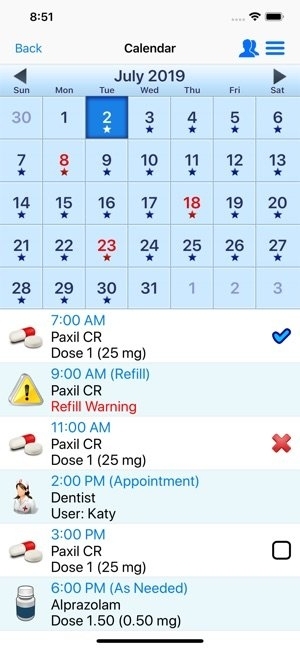 Pill Reminder - All In One On The App Store inside 28 Day Multi Dose Medication Expiration Date Calendar Photo