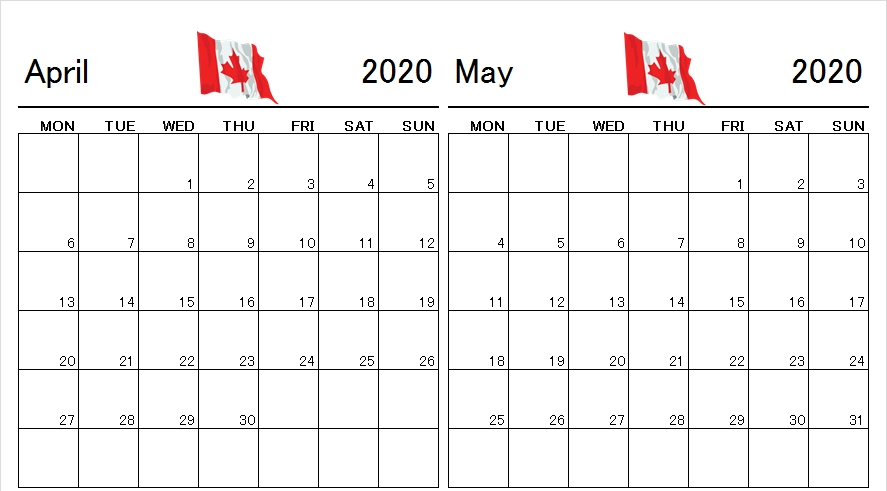 Pin On 2020 Monthly Calendar Template inside Free Printable Monthly Calendar 2-020