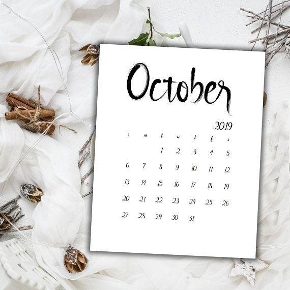 Pin On Calendar 2018 2019 with regard to Baby Girl Calender October