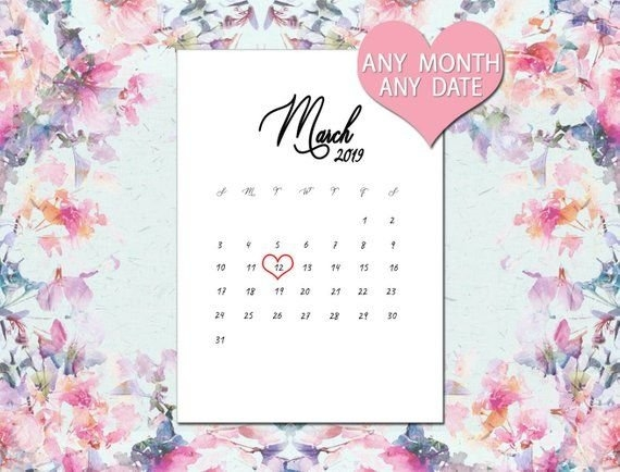 Pin On Calendar2019 intended for Calander Baby Due Month Graphics