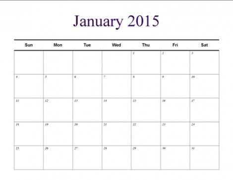 Pin On Templates with regard to Understated Calendar Photo
