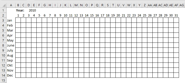 Plot Date Ranges In A Calendar for Printable Calendar Date Range Graphics