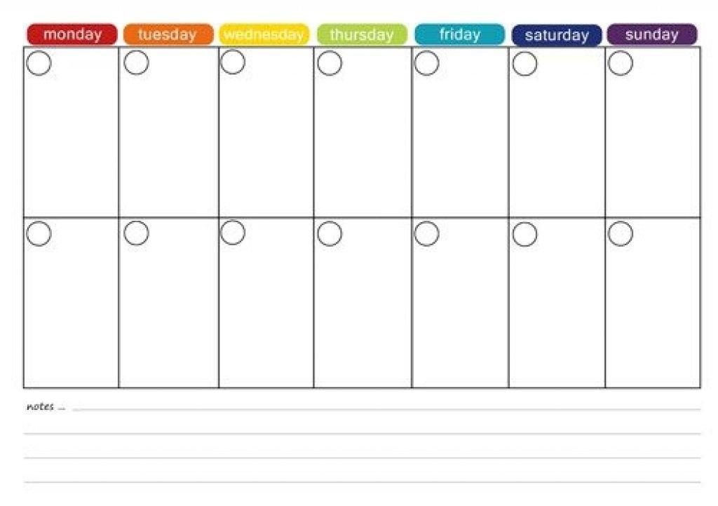 Printable 2 Week Calendar Printable 2 Week Calendar Two Week in 2 Week Schedule Template Free