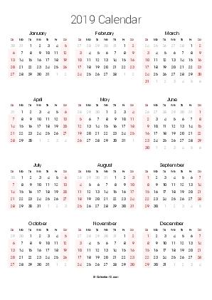 Printable 2020 Calendars (Pdf) - Calendar-12 throughout No Frills Basic Calendar 2020