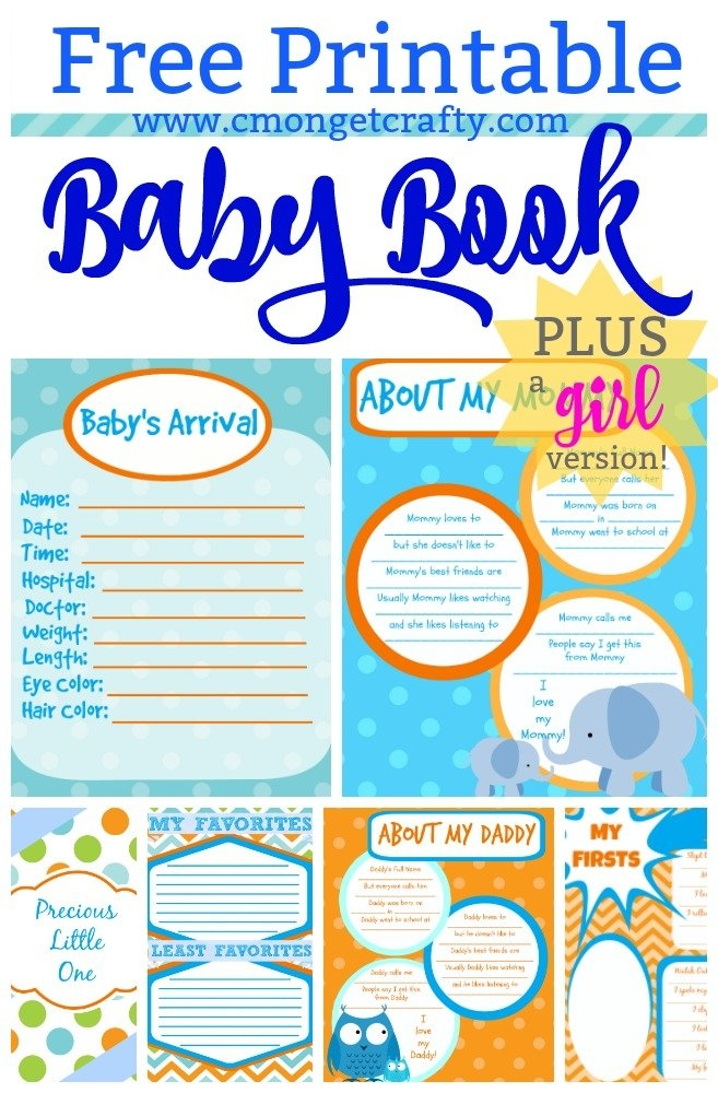 Printable Baby Book Pages Free Download intended for When Will Baby Arrive Prinatble Image