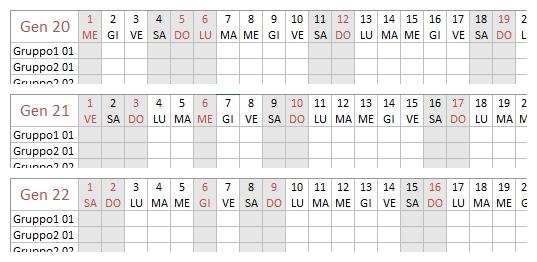 Programmare Le Assenze: Il Piano Ferie | Le Pagine Di Gialandra in Piano Ferie 2020 Formato Excel Photo