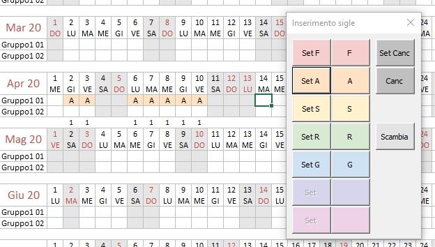 Programmare Le Assenze: Il Piano Ferie | Le Pagine Di Gialandra in Piano Ferie 2020 Formato Excel
