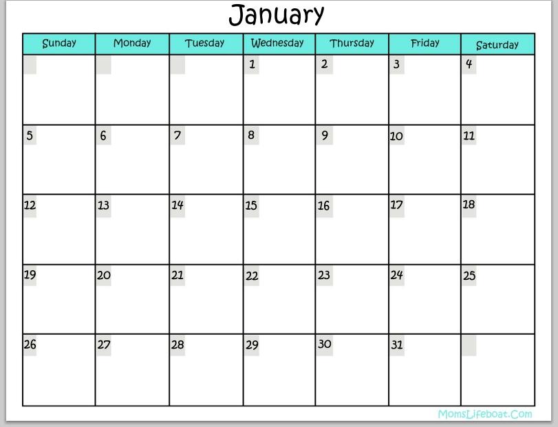 Pumpkin Butter pertaining to Calendar You Can Write In