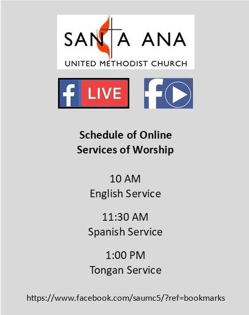 Santa Ana United Methodist Church | A Multi-Cultural, Multi inside March Dates Of Interest To The United Methodist Church