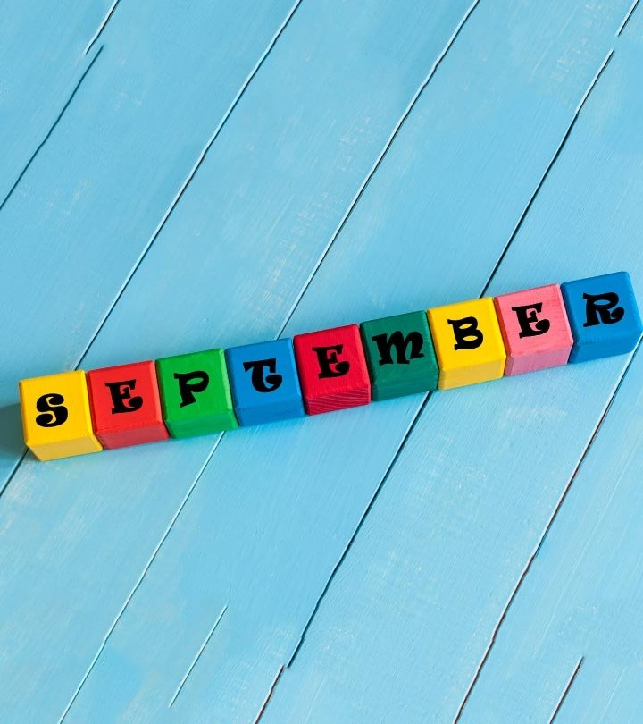 September Baby Names: 21 Names For Babies Born In September intended for How To Make A Calendar For Babys Birthdate
