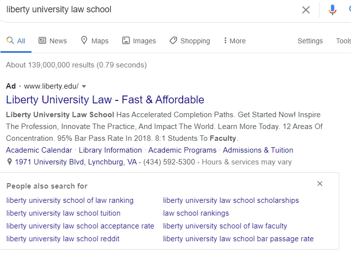 """Seth Abramson On Twitter: """"ps/ That's Why A Historic Number regarding Liberty Academic Schdudles"""