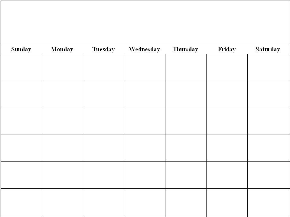 Sheila's Place - Templates - Calendar pertaining to Printable Monthly Calendar 8 1/2 X 11