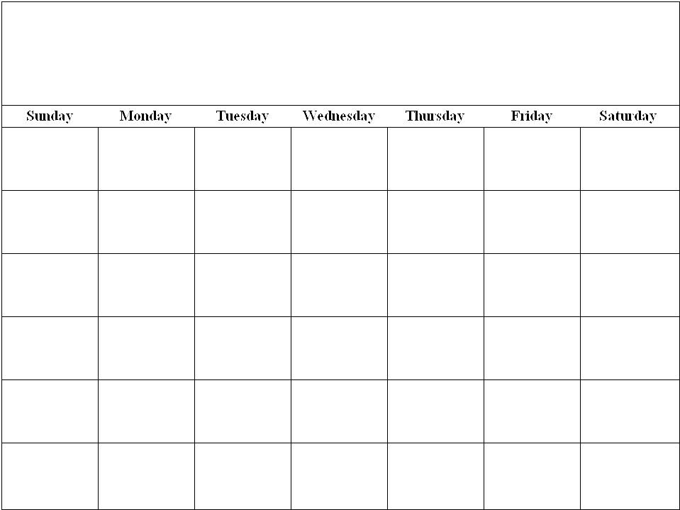 Sheila's Place - Templates - Calendar | Printable Calendar in 8 X 11 Blank Printable Calendar
