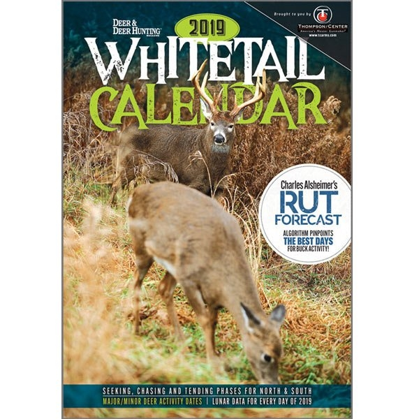 Shopdeerhunting: Grab Your Copy Of The Whitetails 2019 within Deer Activity And Luner Calendar