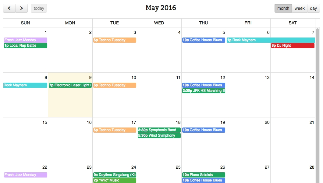 Simple Calendar - WordPress Google Calendar Plugin with regard to Calendar