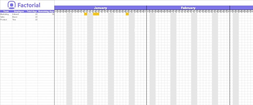 Spreadsheet Calendar Excel Download Template Time Off inside Time Off Calendar Excel Graphics
