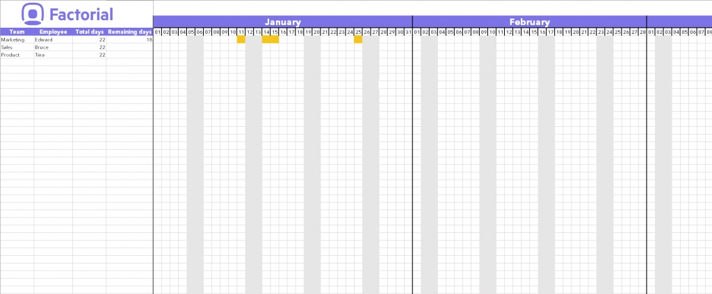 Spreadsheet Calendar Excel Download Template Time Off with regard to Excel Time Off Calendar Graphics