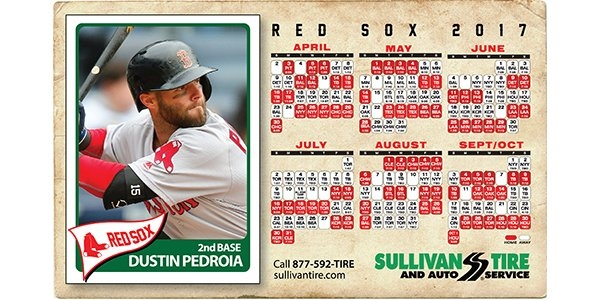 Sullivan Offering Red Sox Schedule Magnets - Tire Review in Red Sox Calendar Schedule