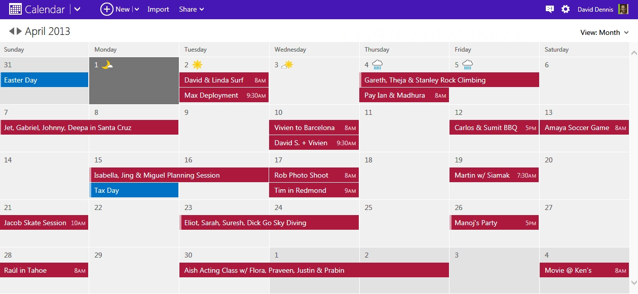 Take Control Of Your Schedule With A Modern Calendar intended for Microsoft Access Calendar Scheduling
