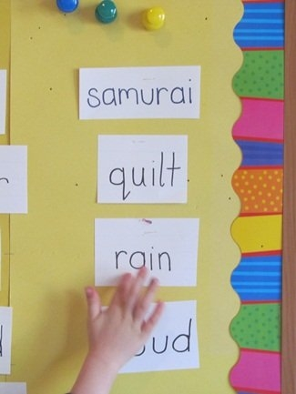 Taking The Word-Wall Beyond The Wall – Teach Preschool within Preschool Classroom Print