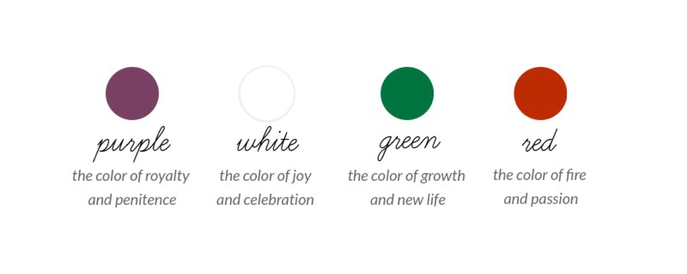 The Colors And Seasons Of The Church Year [Infographic with regard to Liturgical Seasons Umc Photo