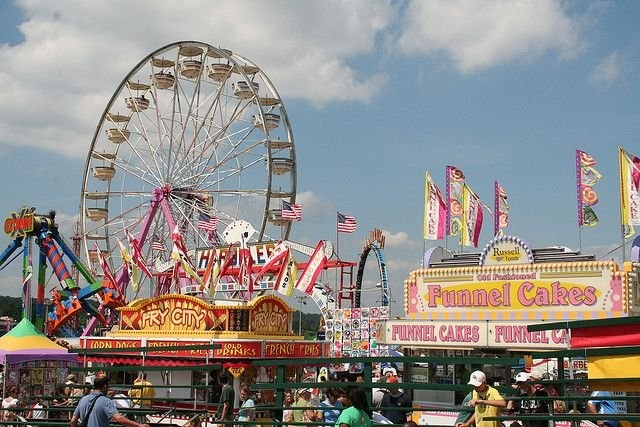 The Maryland State Fair, Timonium Fairgrounds, Maryland in Tinmonium Fair Ground Schedules Events Photo