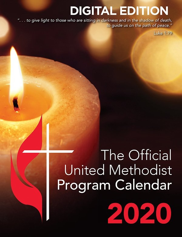 The Official United Methodist Program Calendar 2020 Digital Edition throughout United Methodist Church Parament Calendar Photo