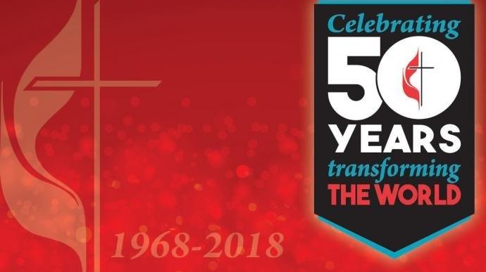 The United Methodist Church Celebrates 50Th Anniversary Of for United Methodist Church Liturgical Year