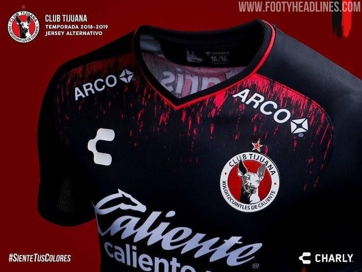 Tijuana 18-19 Third Kitcharly Fútbol - Footy Headlines pertaining to Cholos De Tijuan Calendar Image