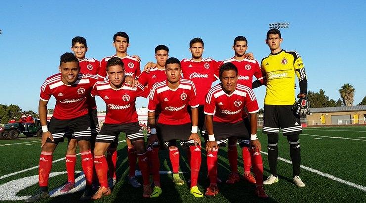 Tijuana Xolos U20 Fall To Albion Pros • Soccertoday intended for Cholos De Tijuan Calendar Image
