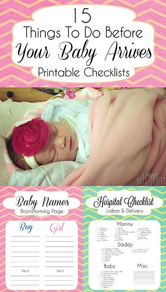 Top 15 Things To Do Before Your Baby Arrives + Free Printable regarding When Will Baby Arrive Prinatble