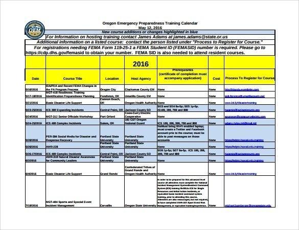 Training Calendar Templates | Schedule Template, Training in Monthly Training Calendar Format