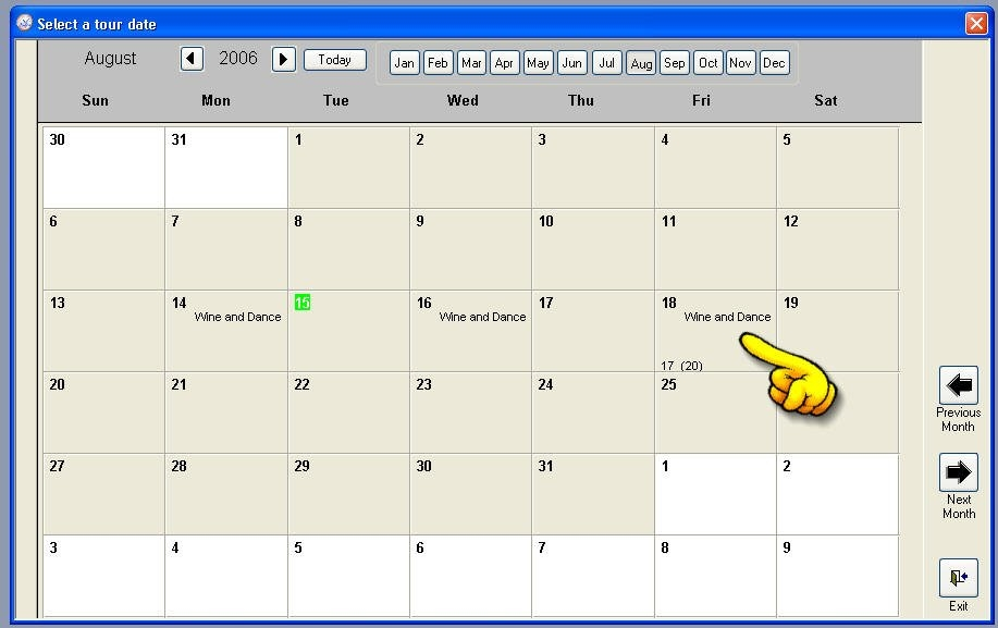 Trying To Make An Efficient Calendar In Microsoft Access for Microsoft Access Calendar Scheduling