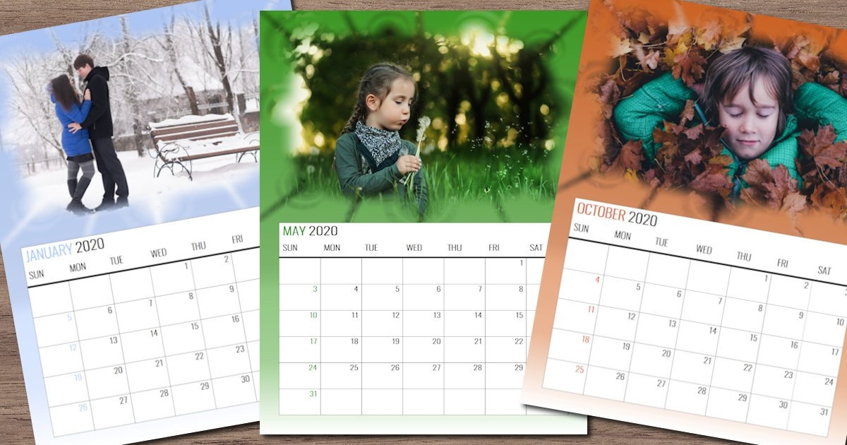 Using Templates To Create Custom Calendars - Corel Discovery in How To Make A Yearly Calendar In Wordperfect