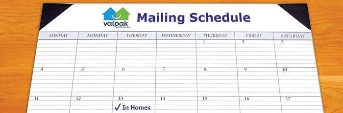 Valpak Mailing Schedule | Valpak Rochester pertaining to Freetime Magazine Rochester Ny Calendar