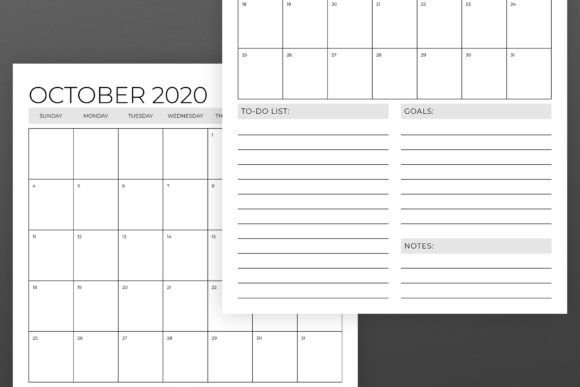 Vertical 11X17 Inch 2020 Calendar (Graphic)Running With intended for 11X17 Online Calendar Template Photo