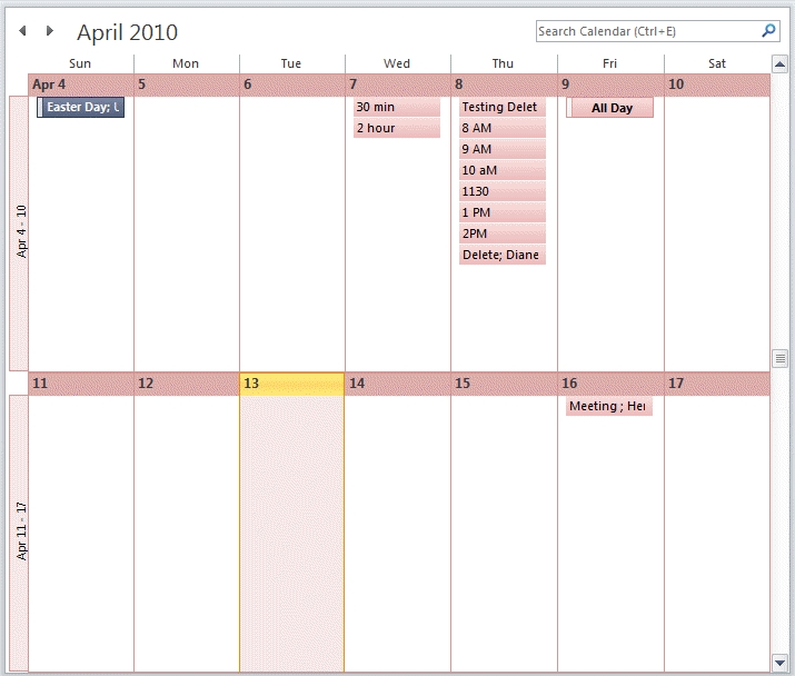 View A Two Week Calendar intended for Printable Calendar That Shows Each Day Numbered Out Of 365