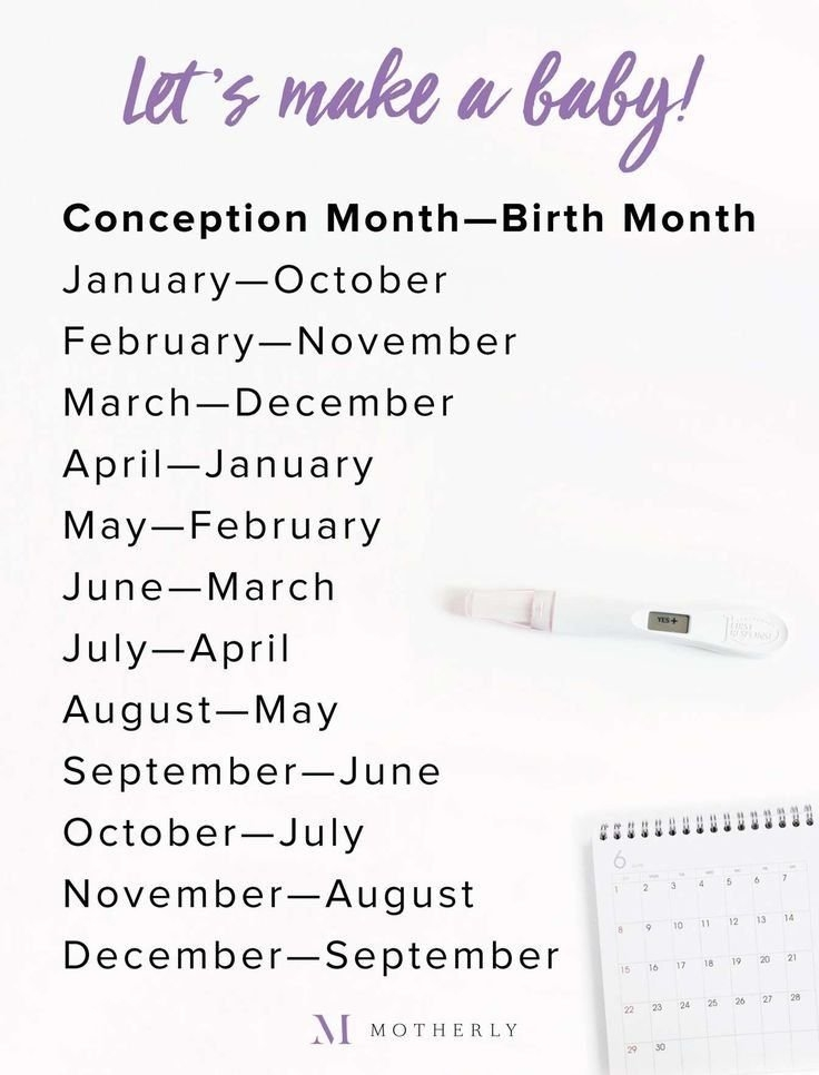 What Month Will My Baby Be Born? Due Date Calculator - Motherly with Calander Baby Due Month Graphics