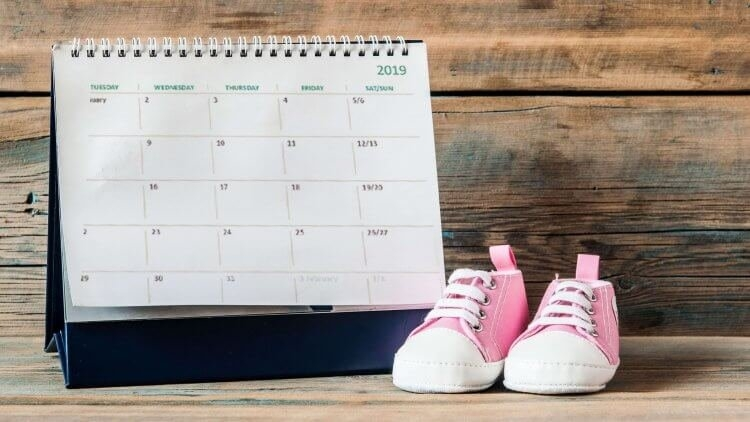 When Will My Baby Be Born? How Accurate Is Your Due Date? in How To Make A Calendar For Babys Birthdate Photo
